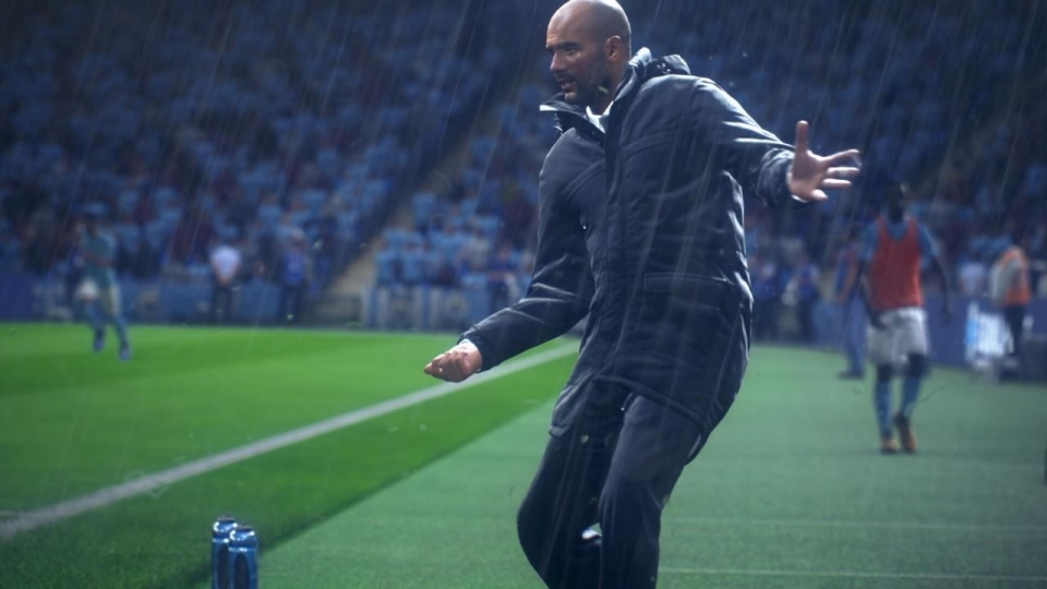 Weather effects look the part in FIFA but do not change on the fly