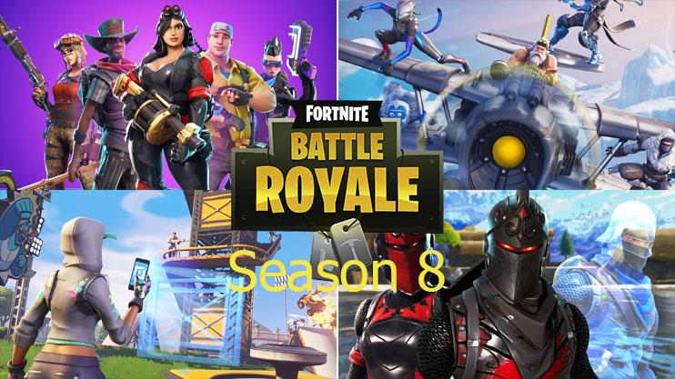 Fortnite Season 8 Everything We Know About Season 8 Map Changed