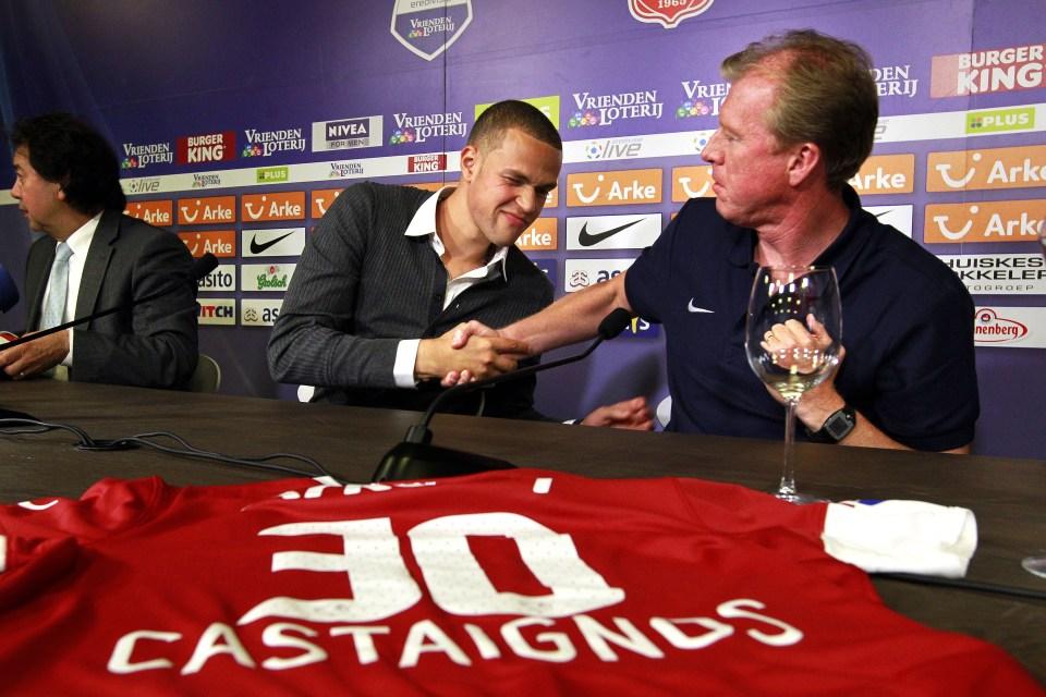Pinot at a press conference?