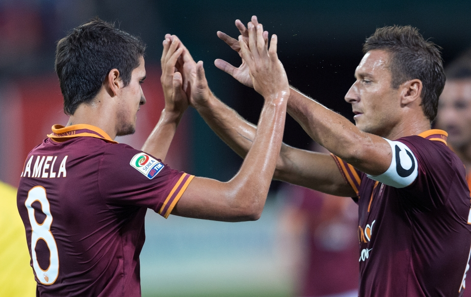 Totti is footballing royalty in Rome