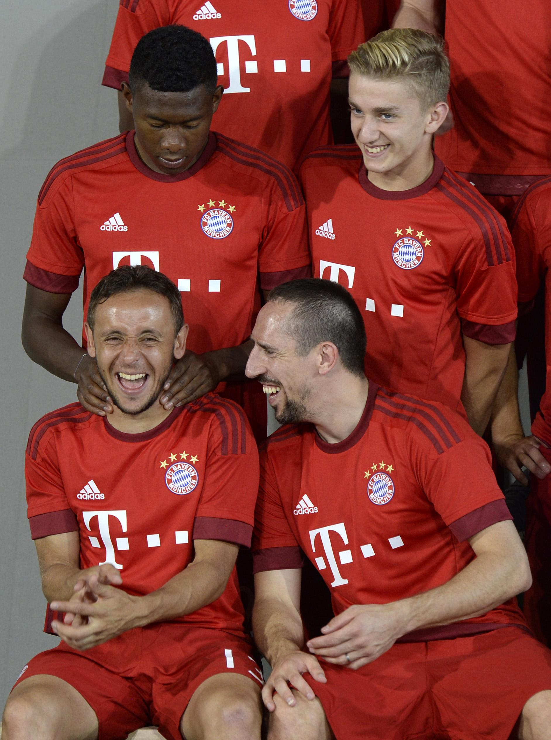 Kurt's (top, right) move to Bayern was considered highly controversial
