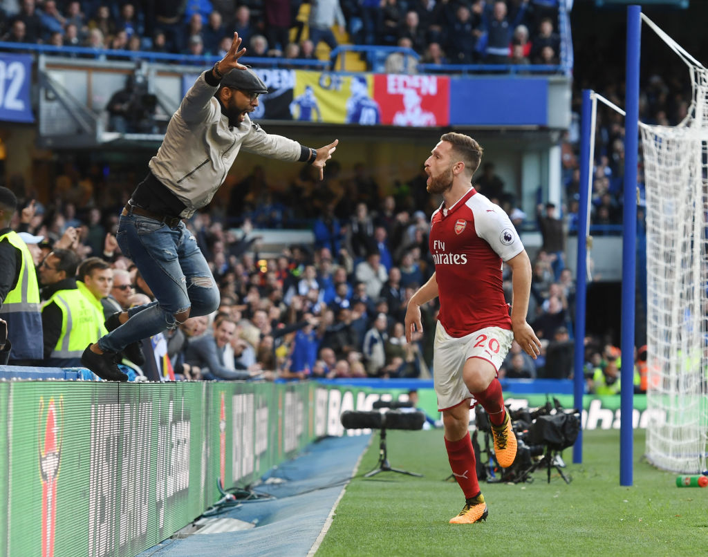 Throwback to when he celebrated an offside goal with a fan at Stamford Bridge
