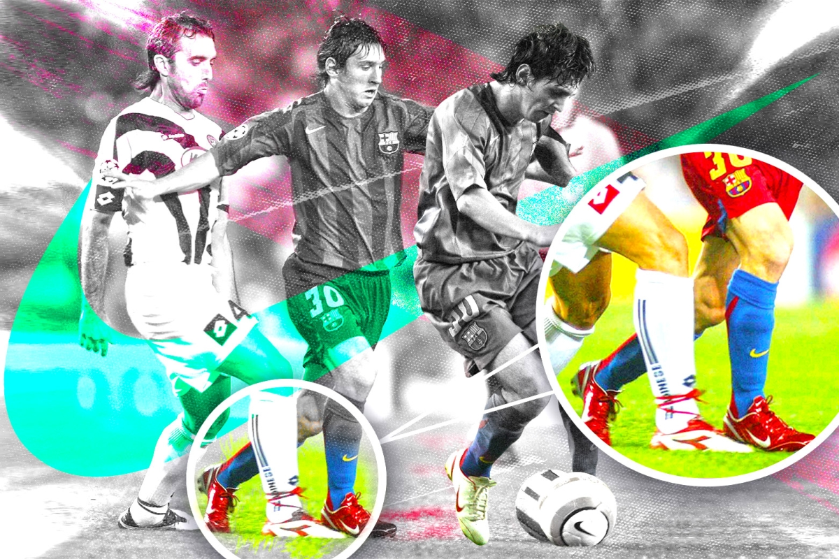 fc83549e88e A brief history of Lionel Messi wearing Nike not adidas ///