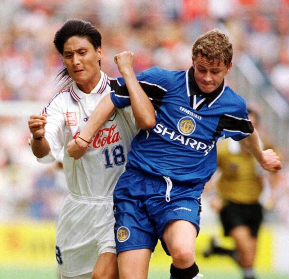 Remember United's blue kit?