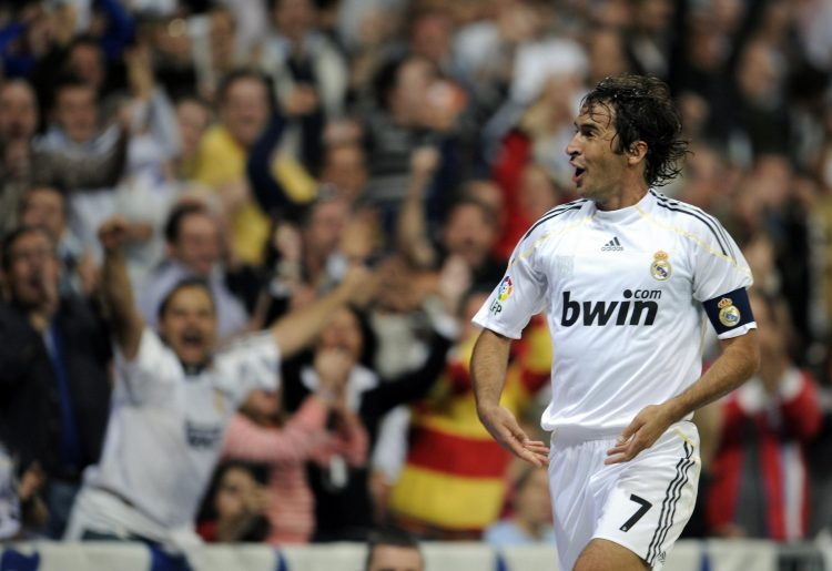 Raul held the shirt for 15 years