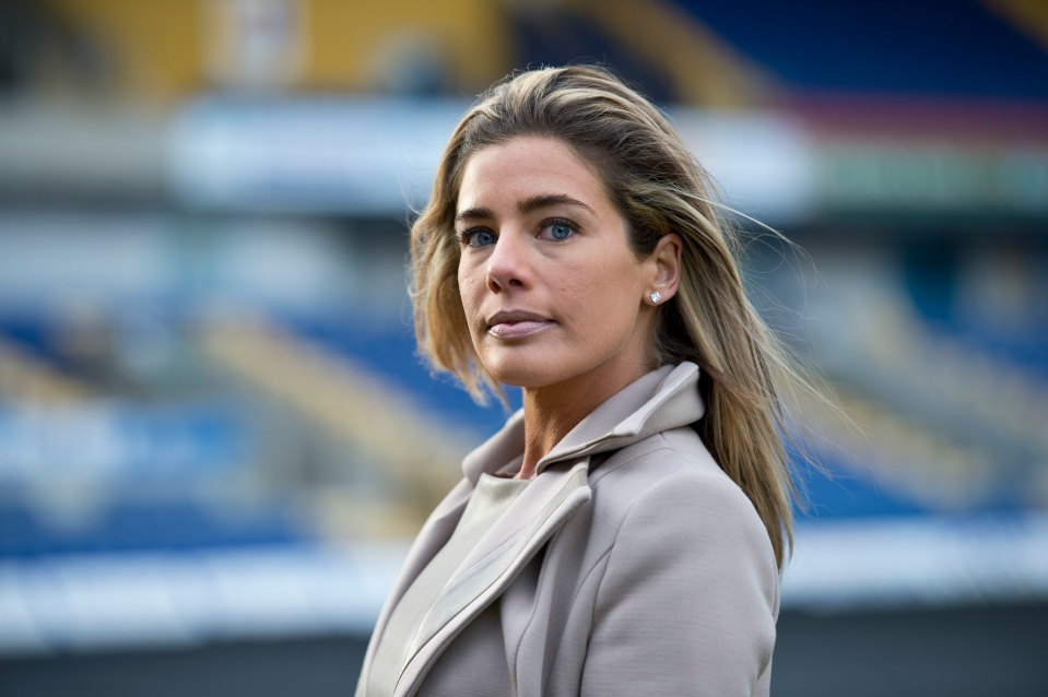Carolyn Radford had faced resistance in her position, but is committed to the club