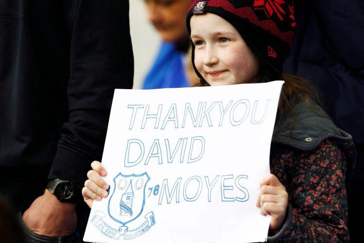 David Moyes built an image at the club