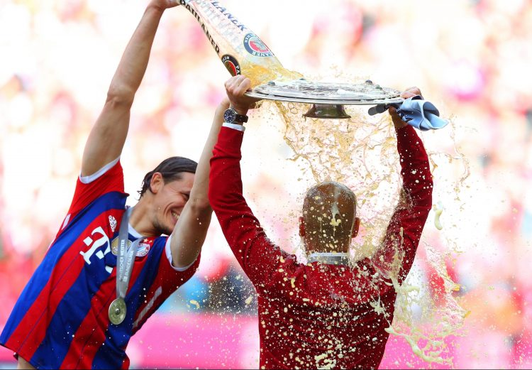 Three league titles in three years in Munich