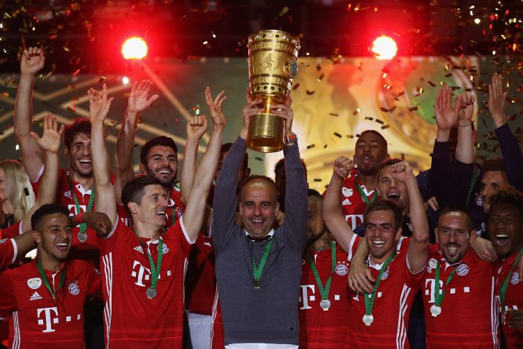 The German Cup is a pretty sweet looking trophy to be fair