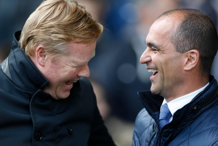 Neither of these two could get the Toffees firing