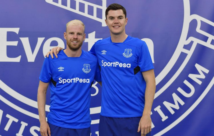 Davy Klaassen and Michael Keane signed two summers again