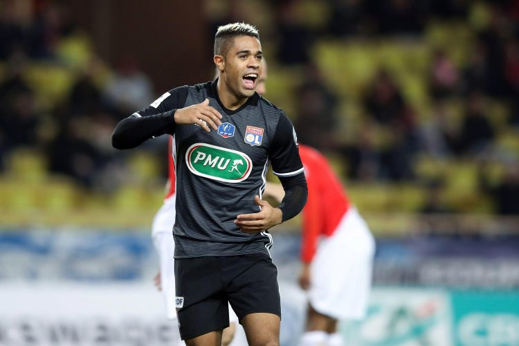 Mariano rocked the number nine at Lyon