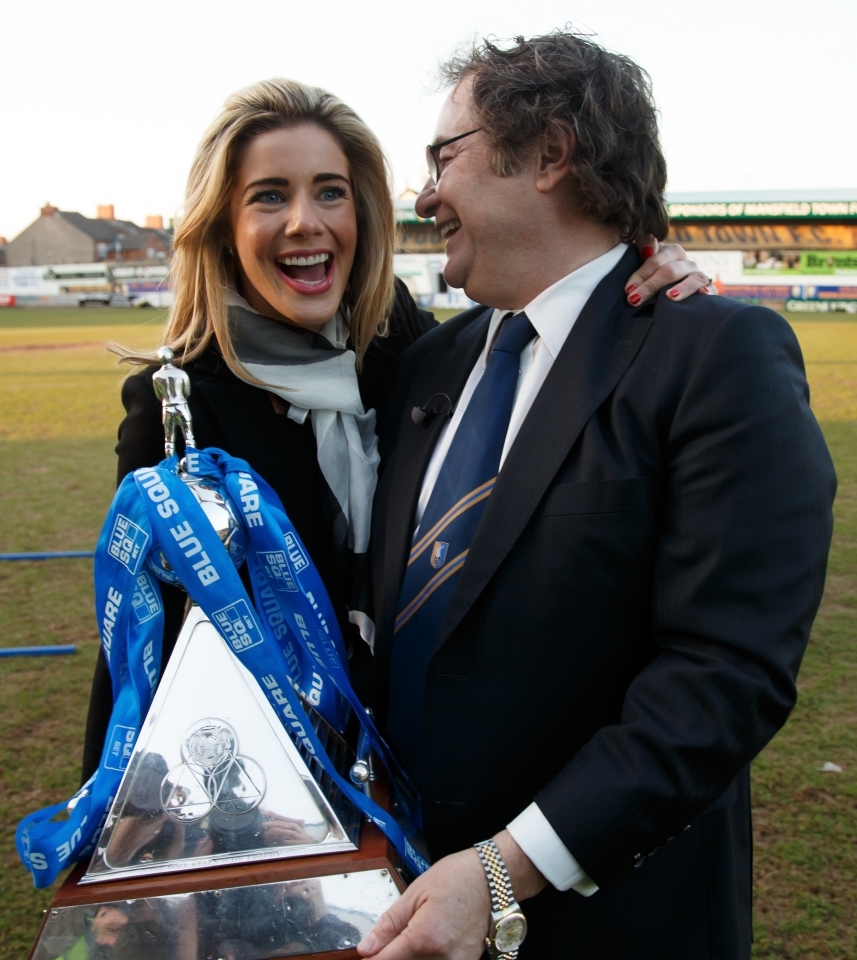 John and Carolyn Radford have turned the club around since 2010