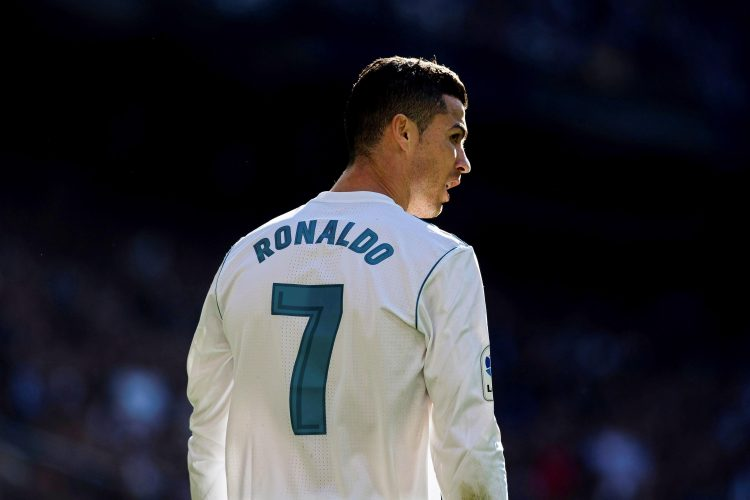 CR7 made the shirt his own