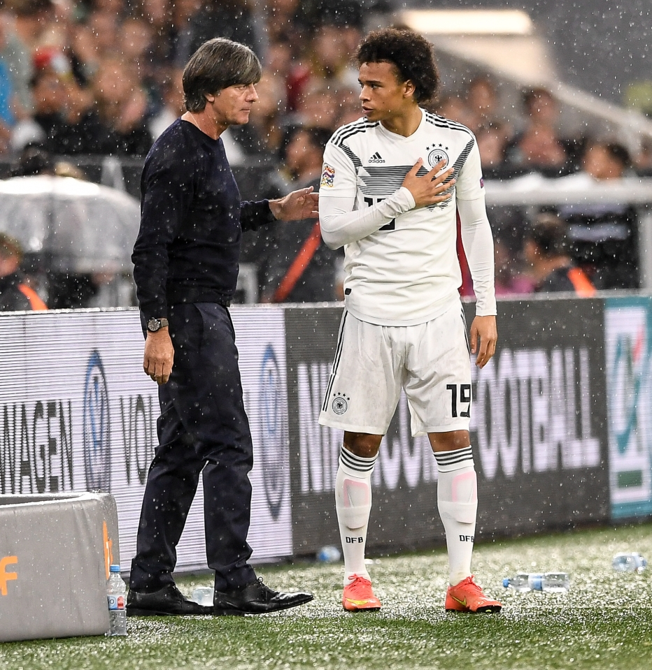 Germany's national team could use somebody like Sane