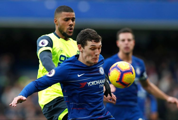 Christensen was given the nod following the humiliation on the south coast