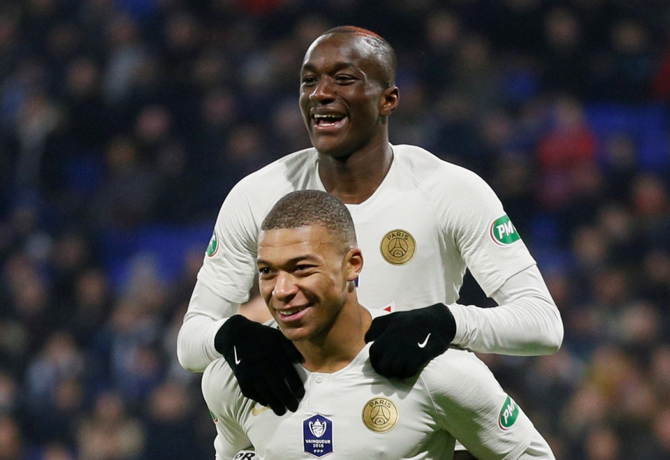Image result for moussa diaby kylian mbappe