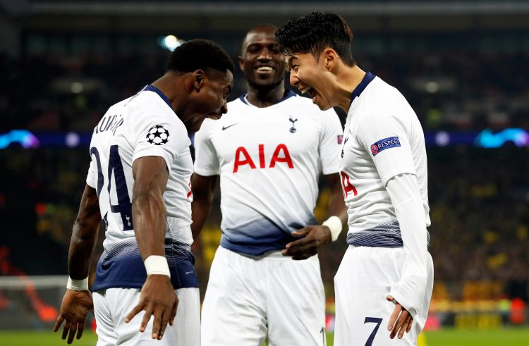 Sissoko isn't too sure how to get involved