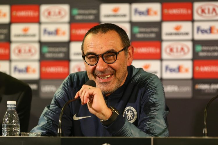 Sarri has more than one superstition