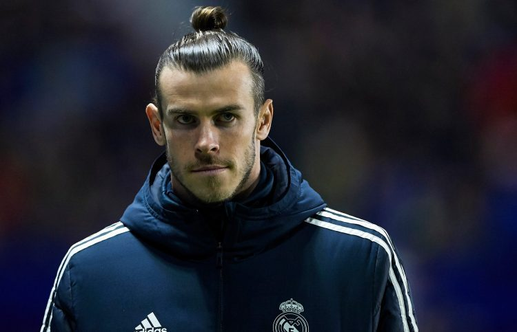 Bale was sidelined for three weeks