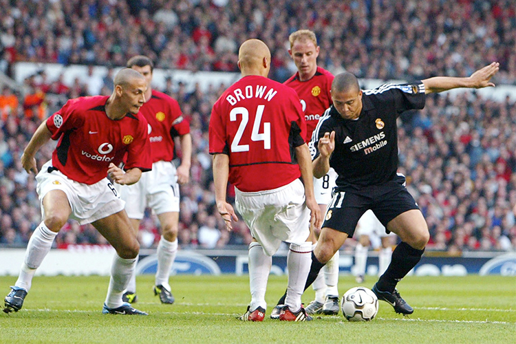 Wes Brown hates getting nutmegged