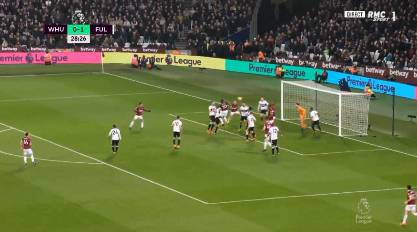 Michail Antonio's header ricocheted against Angelo Ogbonna and fell into the path of a goal-thirsty Hernandez