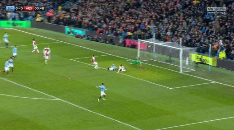 Aguero was never going to miss