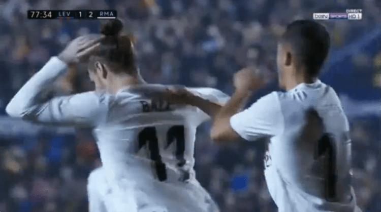 Bale completely ignored Vasquez's congratulations