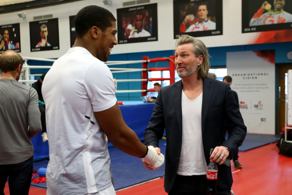 Piers Morgan, nicer than Anthony Joshua… apparently