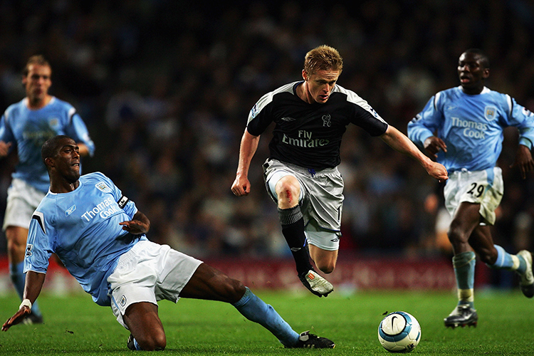 Who knew Damien Duff could levitate?