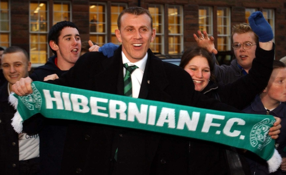 Remember this bloke, Hibs fans?
