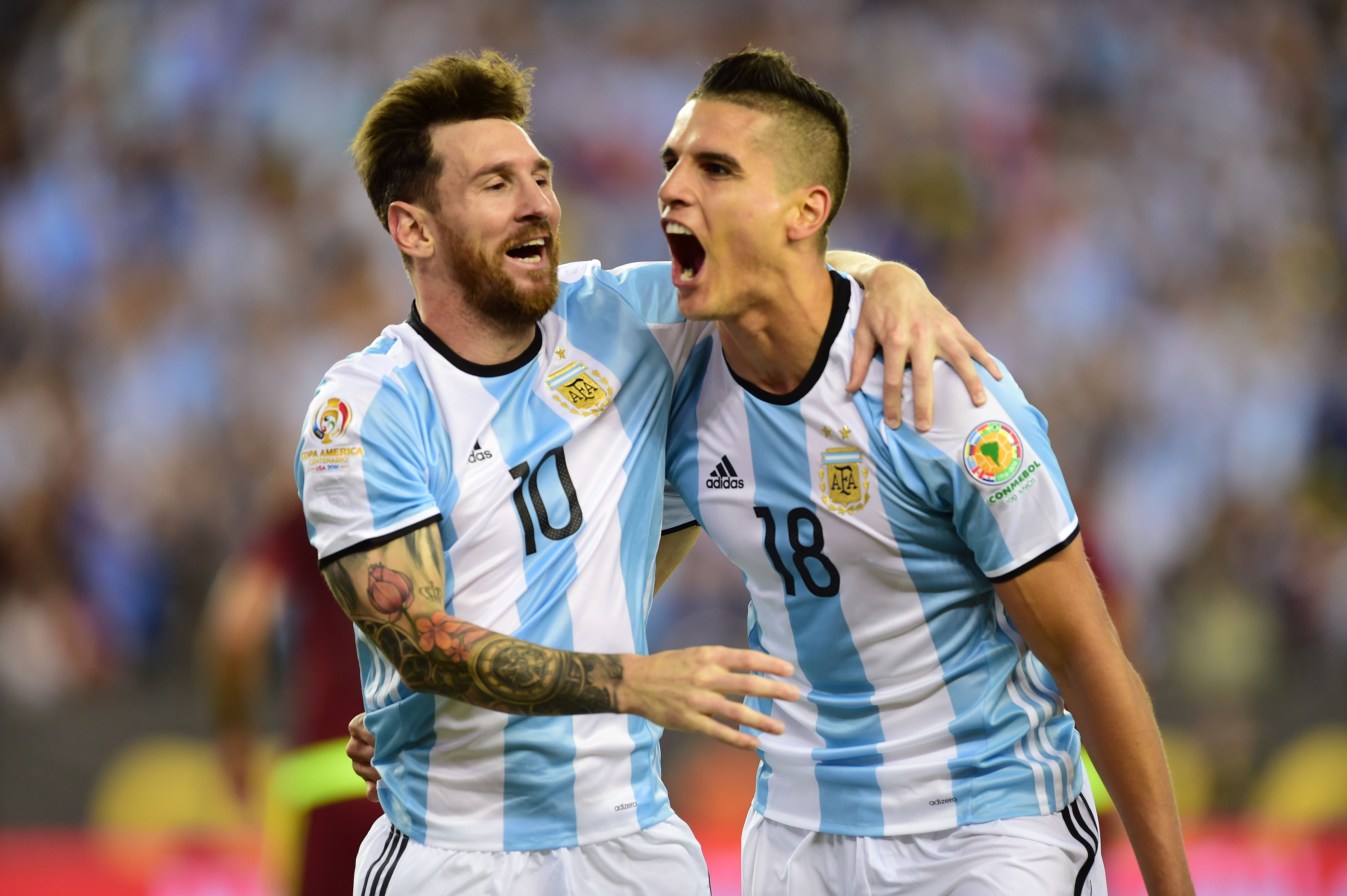 The pair have enjoyed a good relationship on the pitch for Argentina