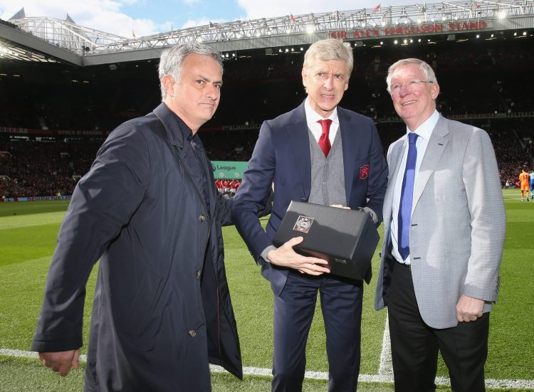 Wenger's face says it all