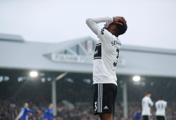 Fulham's youngster might be heading down, at least he is doing it quickly