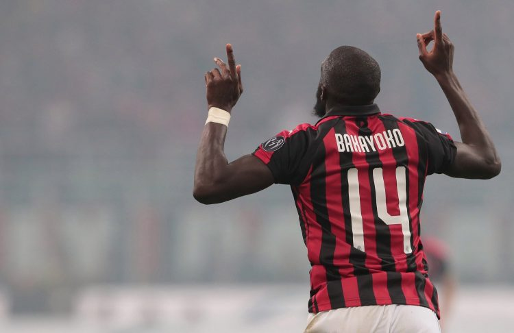 He even scored in the Milan derby