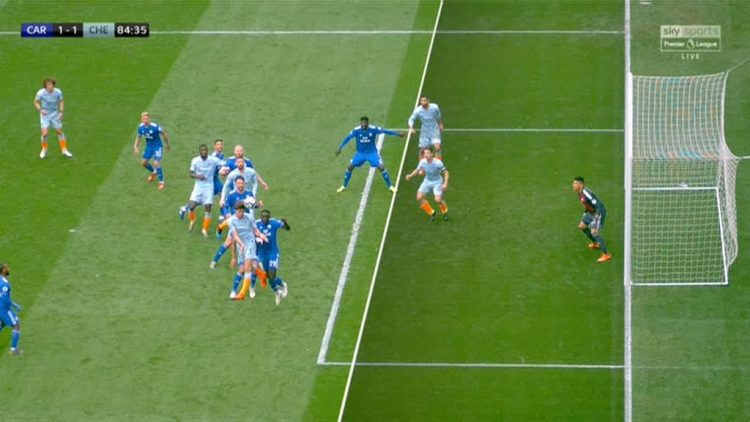 That's offside in anyone's book