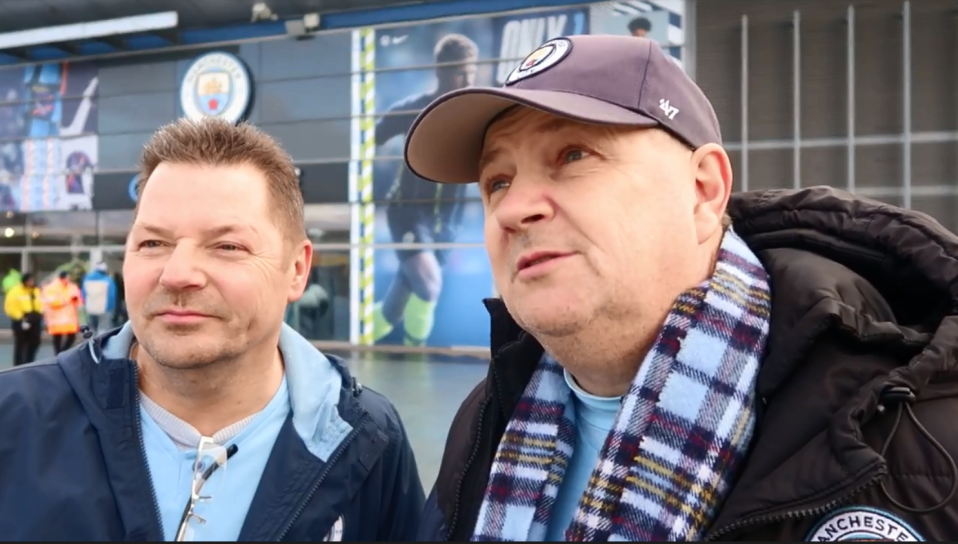 Barry Lomas and John Baker follow City all over Europe