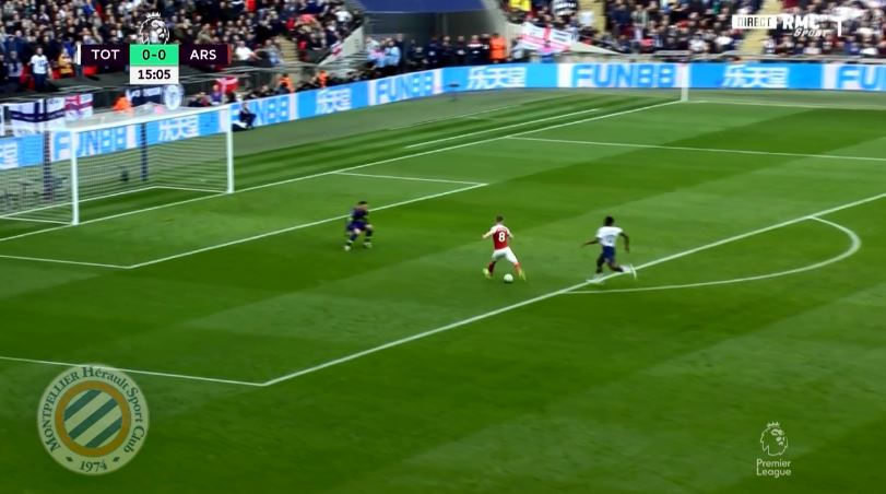 Ramsey is given the freedom of the Spurs half