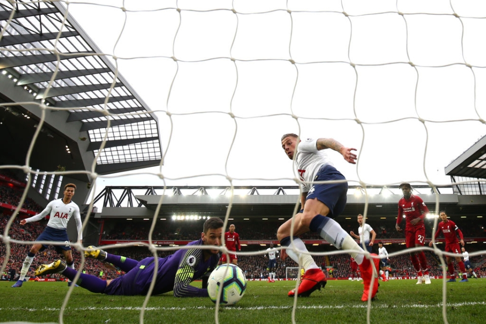 The Frenchman made a mistake that cost Spurs a point against Liverpool
