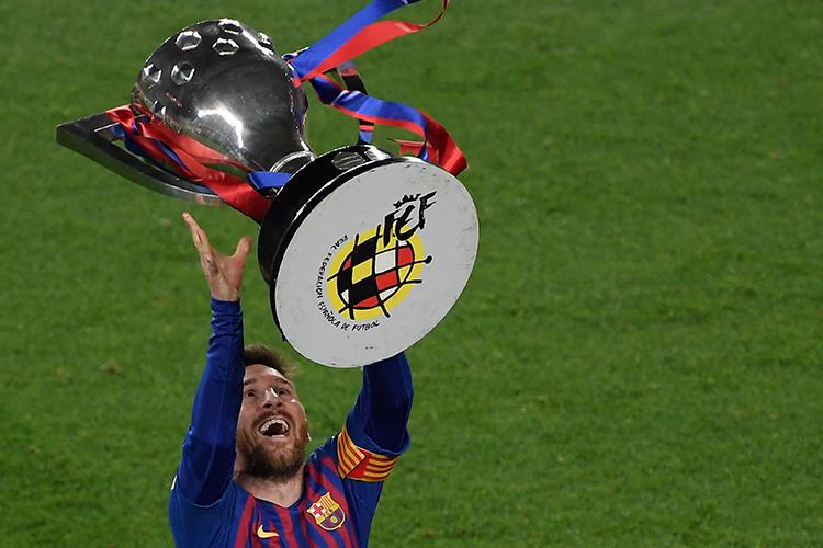 The best trophy handler in world football