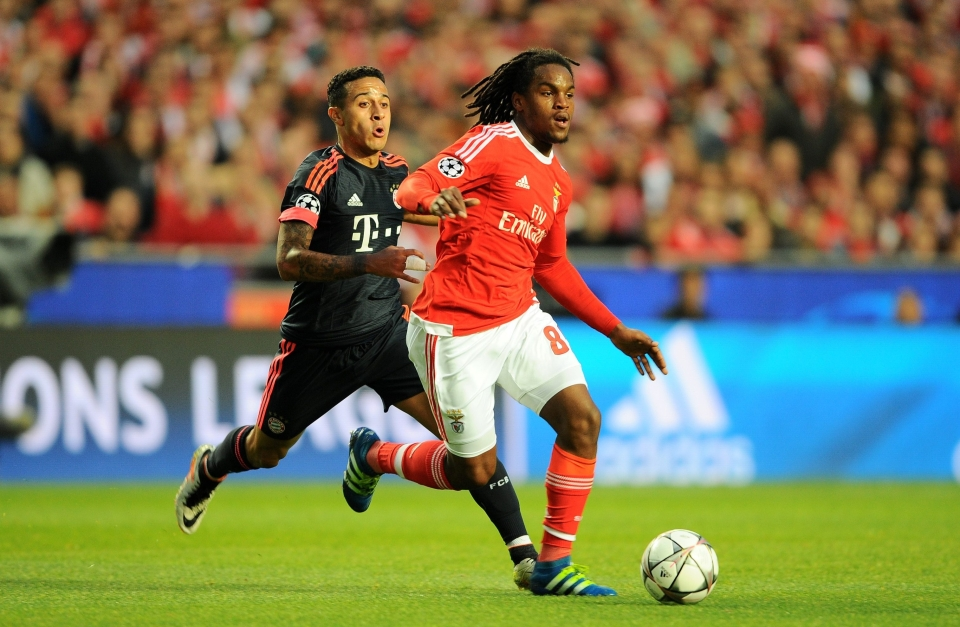 The exact moment Bayern decided to buy Renato Sanches