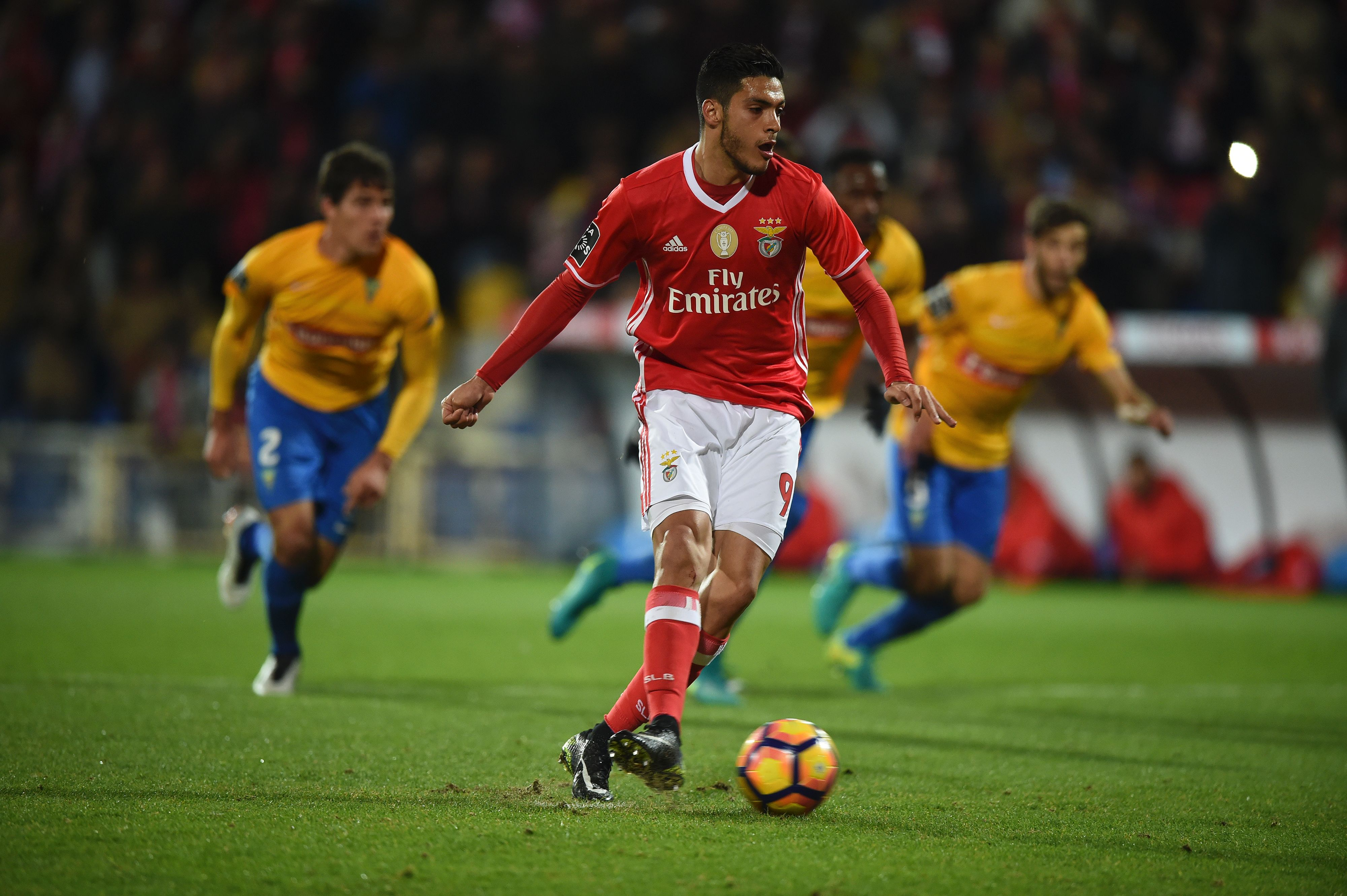 Jimenez was rarely a starter for Benfica