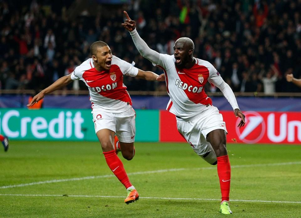 Bakayoko scoring the winner against City