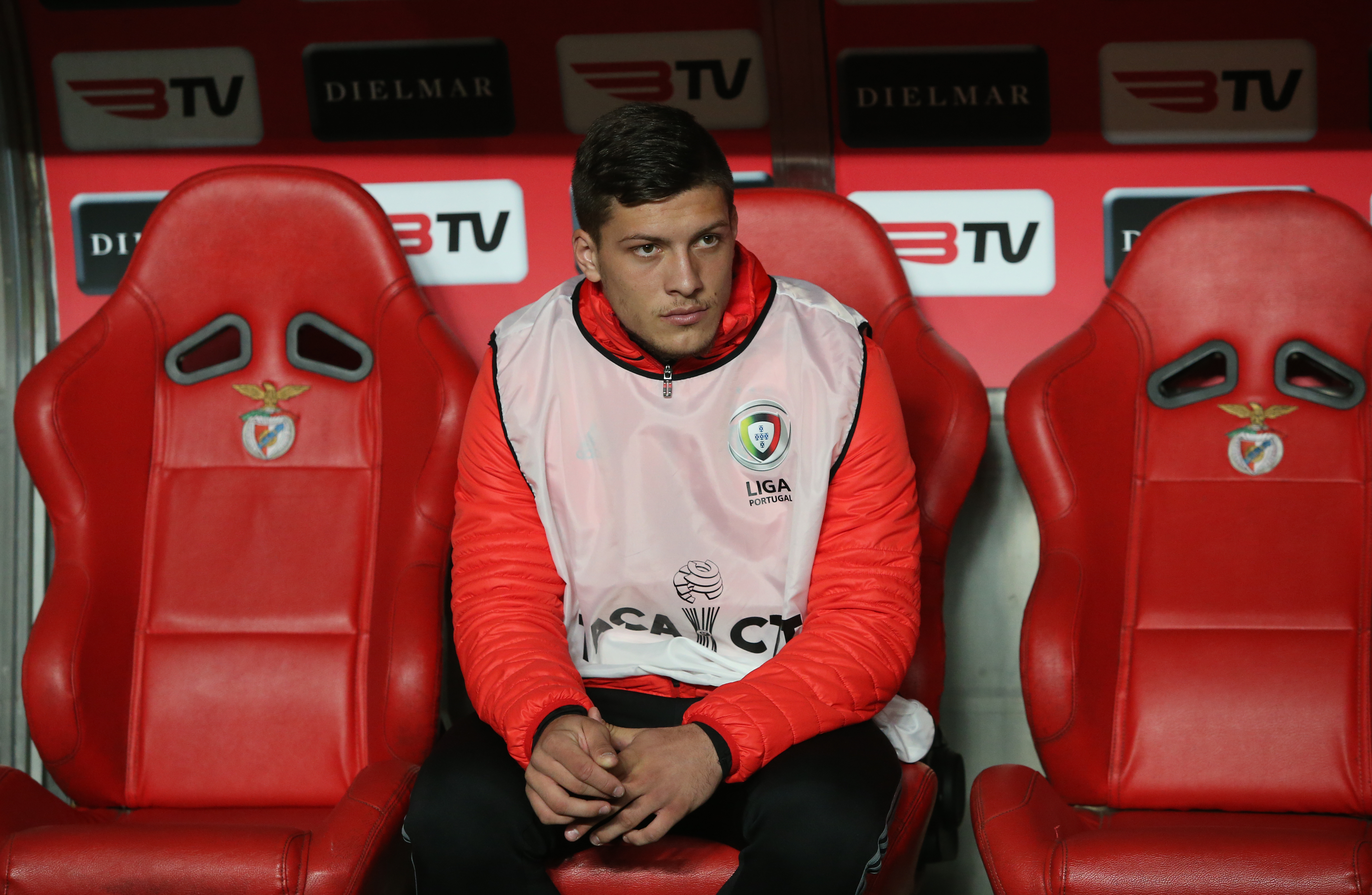 Jovic's time at Benfica was frustrating