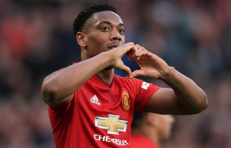 Martial and Rashford have the same number of goals
