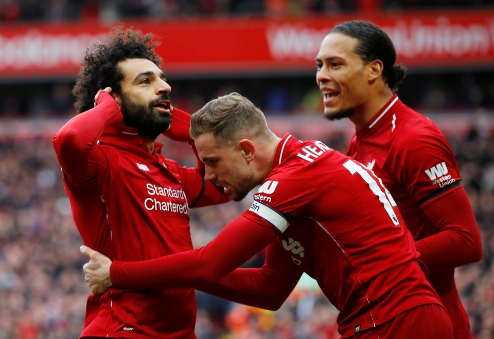 Mohamed Salah's stunning strike doubled the lead soon after