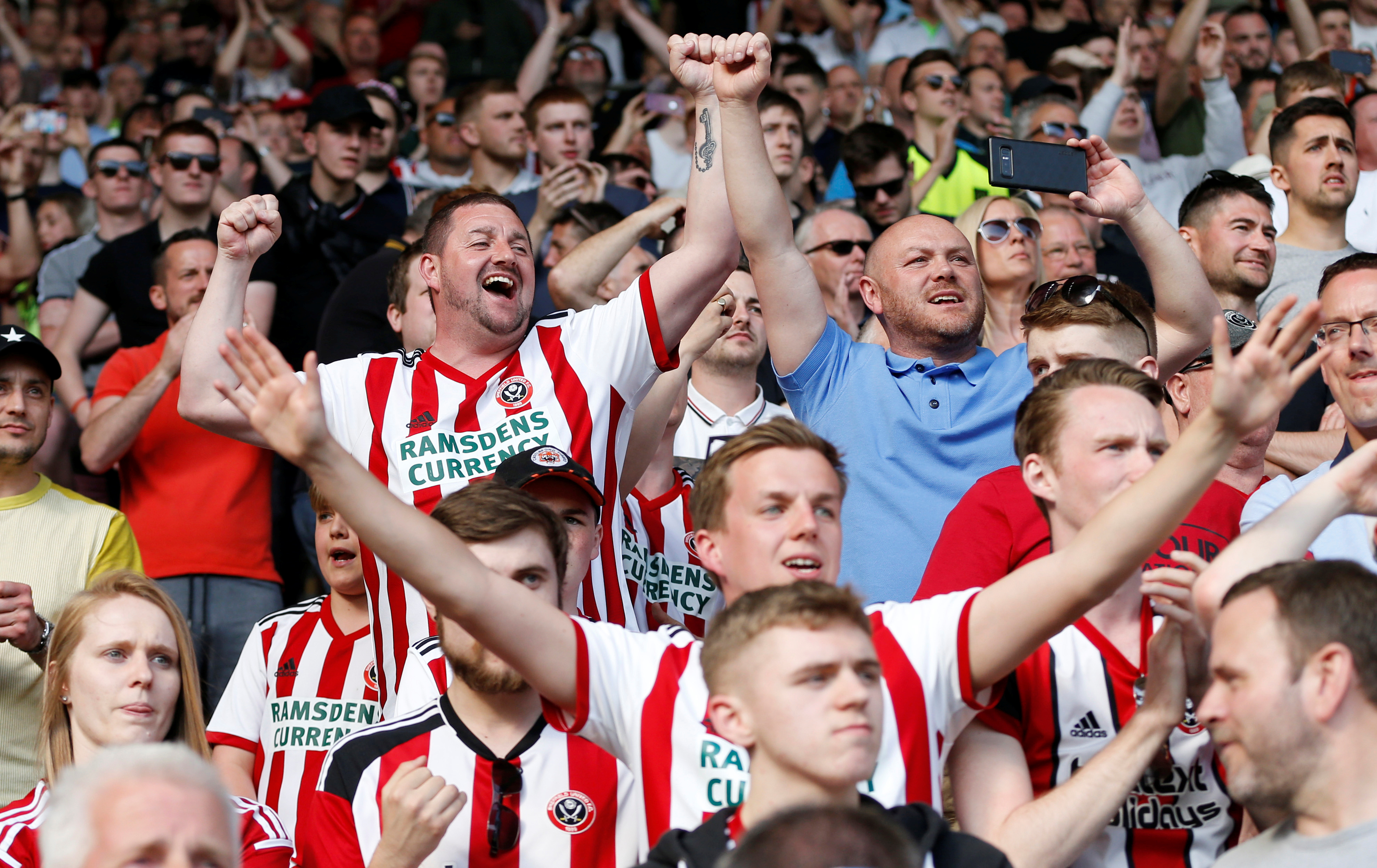 Blades fans are dreaming