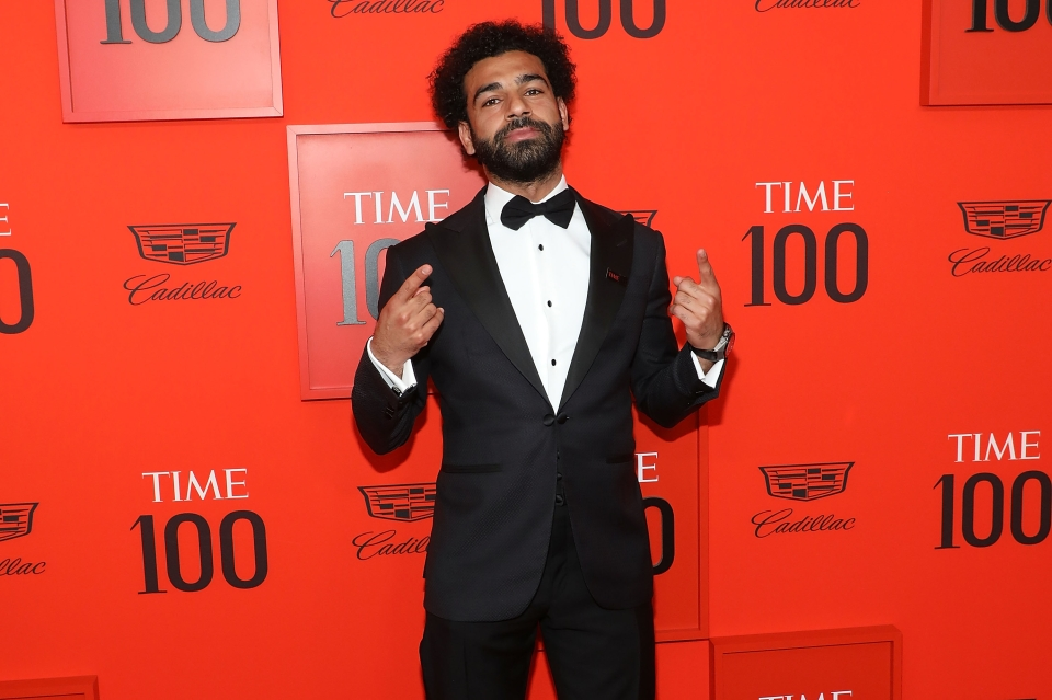 The only footballer on Time magazine's 100 most influential people
