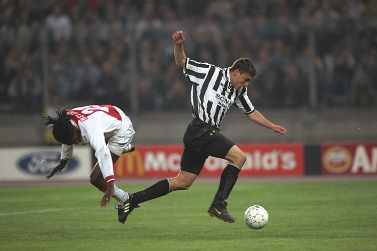 Never go shoulder to shoulder with Christian Vieri