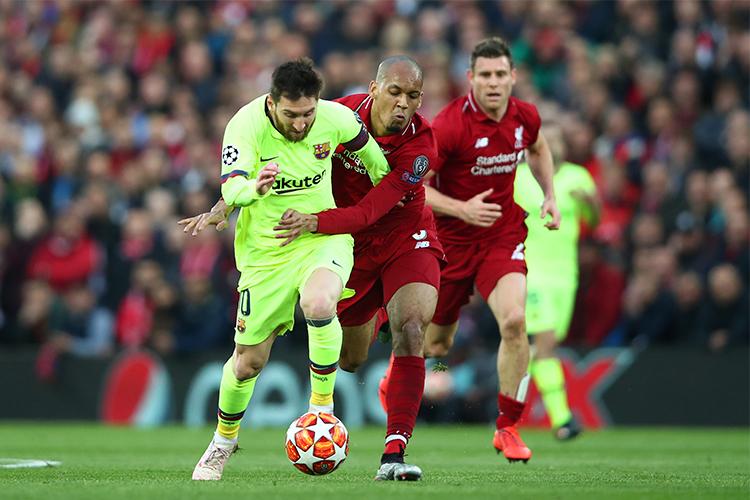 When man marking isn't enough then you've got to turn to Messi marking